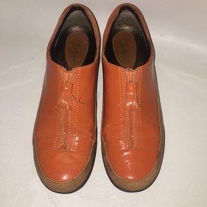 Cole Haan waterproof orange leather nike air luna
